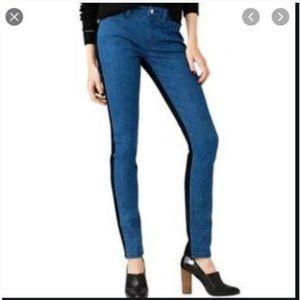 kate spade saturday color block jeans 24 nwt